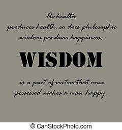 Citas de Aristóteles. Como la salud produce salud...