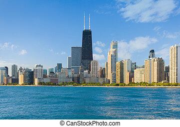 cityscape, chicago