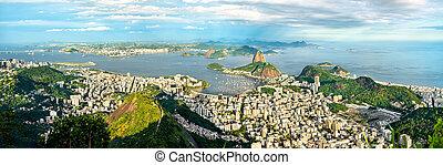cityscape, río, brasil, janeiro, de