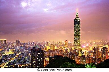 cityscape, taiwán