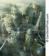 Ciudad de fantasía