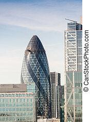 Ciudad de Londres al atardecer, Reino Unido