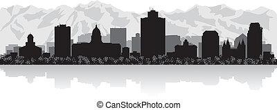 Ciudad de Salt Lake, silueta