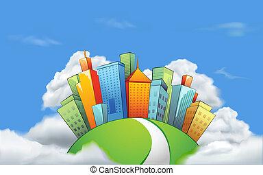 Ciudad en nube