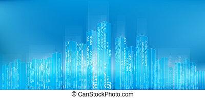 ciudad, resumen, digital
