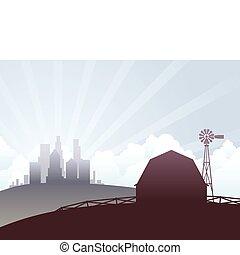Ciudad y país