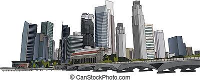 Ciudades de Singapur