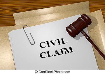 Civil reclama el concepto legal