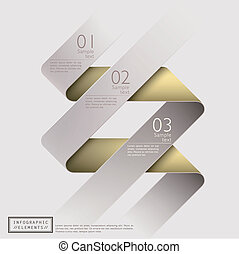 Clásico, abstracto de la cinta 3