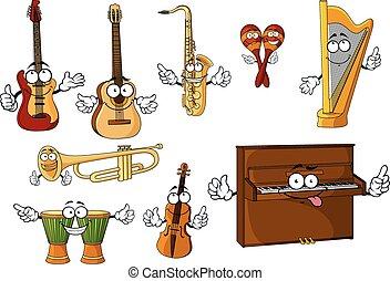 Clásicos personajes musicales de dibujos animados