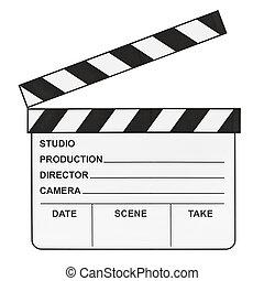 Clapboard de cine