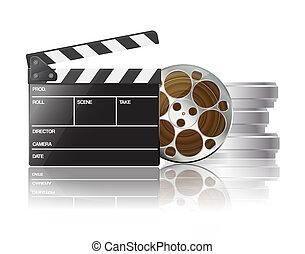 Clapper y película