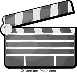 Claqueta de cine. Eps10