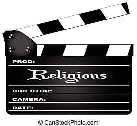 Claqueta religiosa