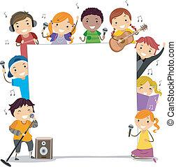 clases, canto, niños