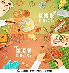 Clases de cocina de primera vista