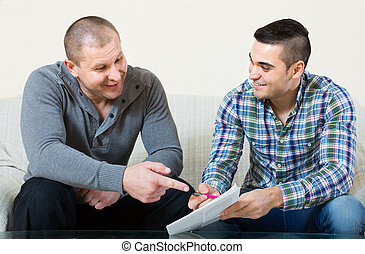 cliente, documentos, hogar, agente