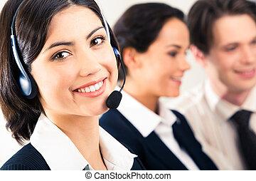 cliente, representante, servicio