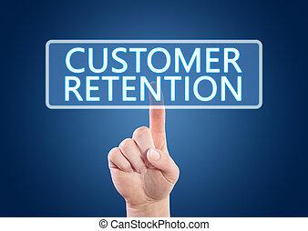 cliente, retención