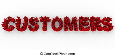 clientes, palabra, forma, gente, -, cartas