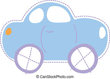 coche, poco, niñez