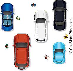 coche, vector, #2