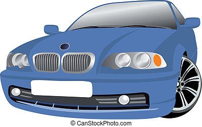 coche, vector
