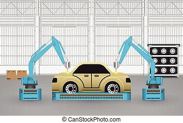 coches, robotes