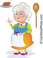 cocina, abuelita