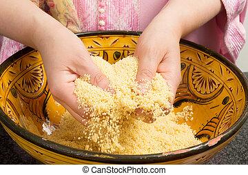 cocina, couscous