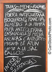 cocina, español