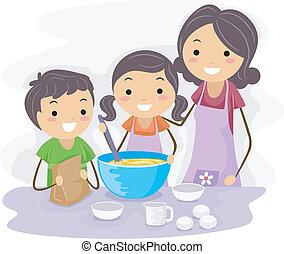Cocina familiar