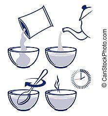 cocina, instrucción