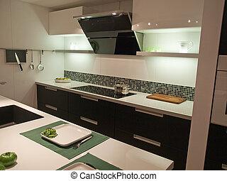 Cocina moderna de diseño moderno