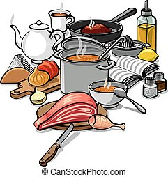 Cocinar comida