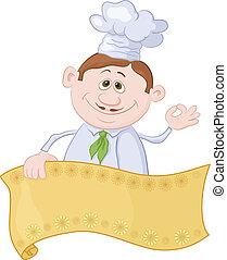 Cocinar con poster