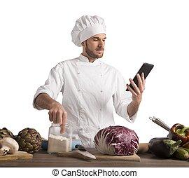 Cocinar con tecnología