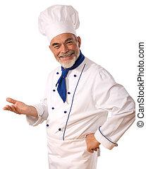 Cocinera atractiva