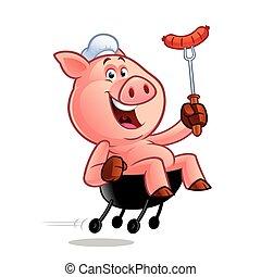 Cocinero de cerdo