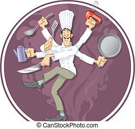cocinero, maravilla