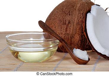 coco, aceite
