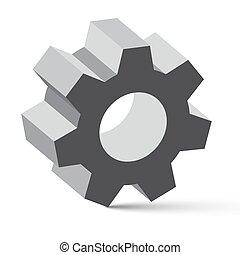 Cog - vector de engranaje