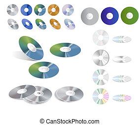 colección, cd
