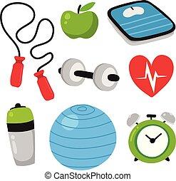 Colección de íconos de la salud
