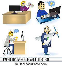 Colección de artículos de diseño gráfico