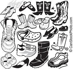 Colección de calzado