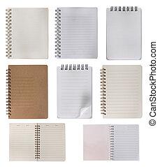Colección de cuadernos