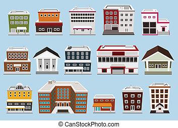 Colección de edificios