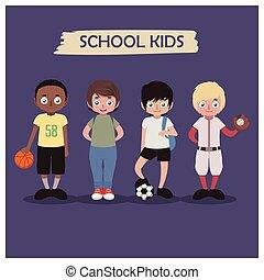 Colección de escolares
