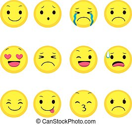 Colección de expresión Emoji
